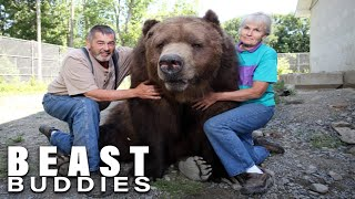 The People Who Live With Giant Bears | BEAST BUDDIES SPECIAL by Barcroft Animals
