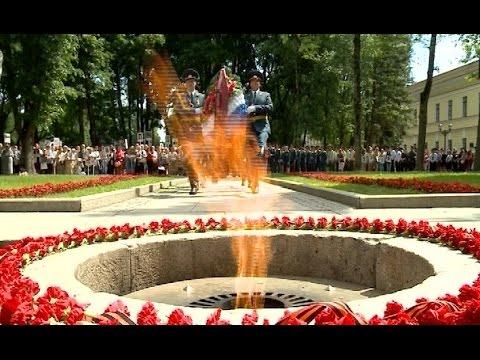 Центральным событием дня в Великом Новгороде сегодня стало шествие Бессмертного полка