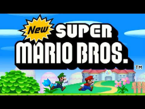 New Super Mario Bros DS - Complete Walkthrough