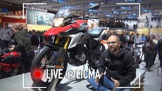 BMW G310 GS a EICMA 2016  - Video Novità