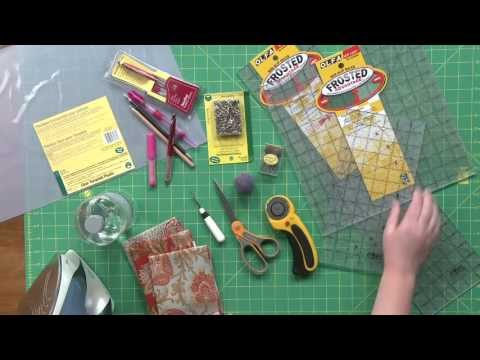 Basic Quiltmaking Tools & Supplies: Tips for Quilters