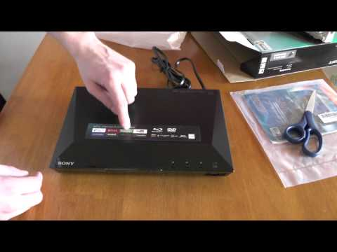 Sony BDP-S1100 Blu-ray Disc Player - Unboxing