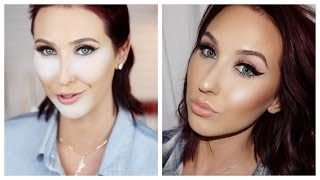 How To - Contour | Blush | Highlight & Bake The Face by Jaclyn Hill