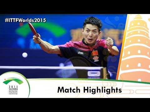 WTTC 2015 Highlights: ZHANG Jike vs FANG Bo (1/2)