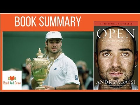 Open by Andre Agassi Book Summary | Andre Agassi Autobiography