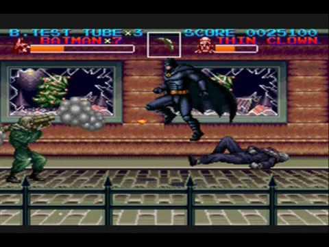 preview-Batman Returns Game Review (Snes)