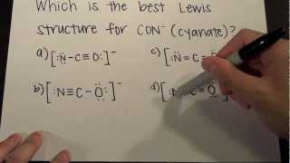 MCAT Question Of The Day 5 Chemistry Lewis Structures