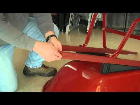 Ames True Temper Wheelbarrow Assembly