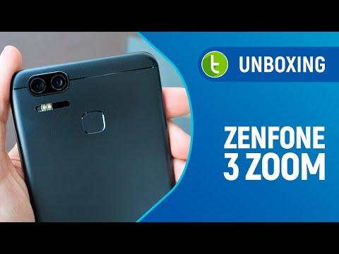 Unboxing e primeiras impressões do Zenfone 3 Zoom  Vídeo do TudoCelular