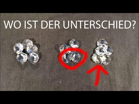 Kristall Unterschied Oktagons im Test: premium-kristall vs. Spectra Crystal vs. Swarovski Elements