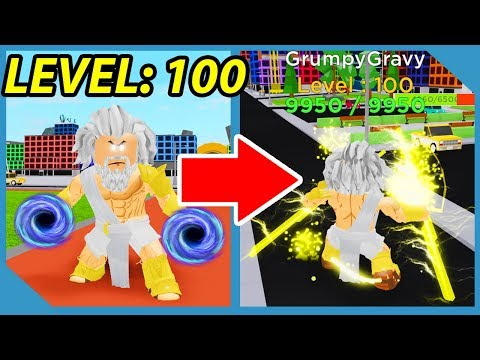 I got the Max Level Ability in Roblox God Simulator