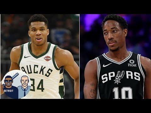 Video: Bucks remain unbeaten, DeMar DeRozan's evolution with Spurs | Jalen and Jacoby