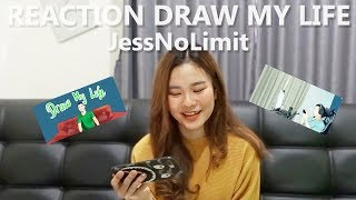 Video REACTION DRAW MY LIFE JESSNOLIMIT MP3, 3GP, MP4, WEBM, AVI, FLV Juni 2019