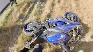 10. Yamaha R6 CRASH at 60MPH