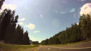 Time-lapse Trip from Yakima to Southcenter, near Seattle