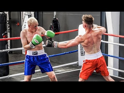 BOXING MATCH:  Joe Weller Vs Malfoy (видео)