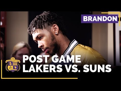 Video: Brandon Ingram On Lakers Issues & Whether They Have A Rivalry With Suns