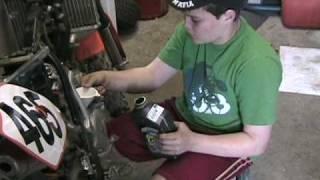 10. KTM 105SX 2008 - Maintenance Day