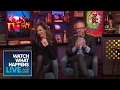 Andy Cohen, Allison Janney And John Benjamin Hickey Make Out! | WWHL