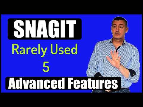 Snagit 2019-5 great advanced features not frequently used.