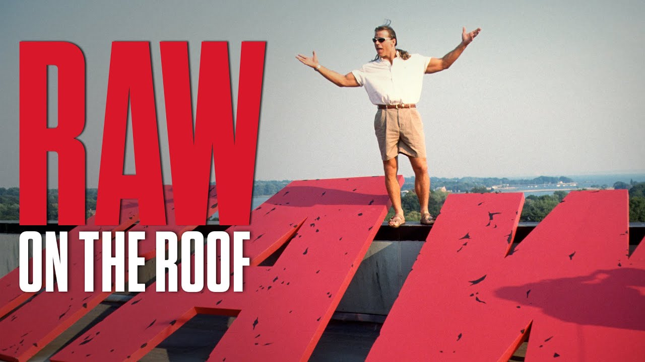 How Raw ended up on the roof of WWE Headquarters