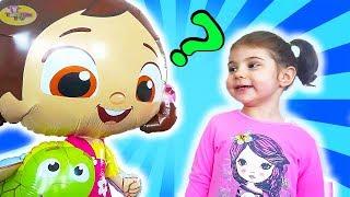 Niloya ve Tospik Uçan Balon Oldu - Eylül Saklambaç - Kız Oyuncakları  - Çizgi Film Tadında Tontik TV