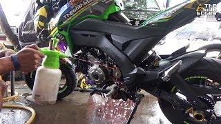 10. Kawasaki Z125 Pro at the workshop #5