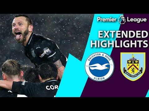 Video: Brighton v. Burnley | PREMIER LEAGUE EXTENDED HIGHLIGHTS | 2/9/19 | NBC Sports