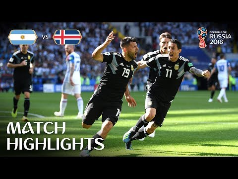 Argentina v Iceland - 2018 FIFA World Cup Russia™ - MATCH 7 (видео)