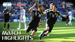 Video Argentina v Iceland - 2018 FIFA World Cup Russia™ - MATCH 7 MP3, 3GP, MP4, WEBM, AVI, FLV Juli 2018
