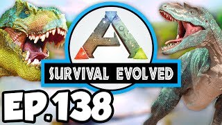 ARK: Survival Evolved Ep.138 - EPIC VOLCANO CAVE ADVENTURE!!! (Modded Dinosaurs Gameplay)
