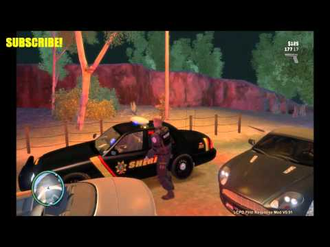 GTA IV SHERIFF PATROL - LCPDFR MOD IN GRAND THEFT AUTO 4