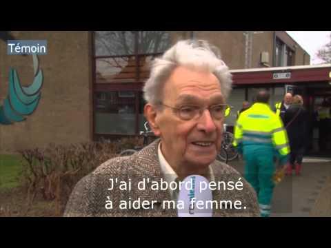 40 blessés dans un incendie aux Pays-Bas