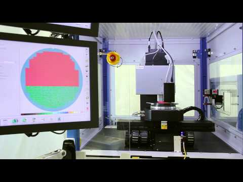 Nanofocus - µsprint: Fully Automated Wafer Inspection
