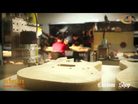 SCHECTER CUSTOM SHOP 2013 PART 1
