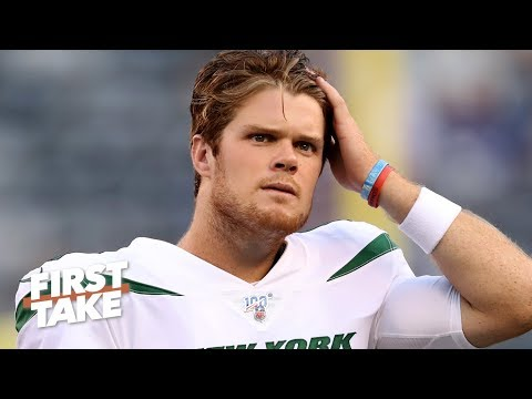 Video: The Jets' season is over – Stephen A. reacts to Sam Darnold being sidelined with mono   First Take