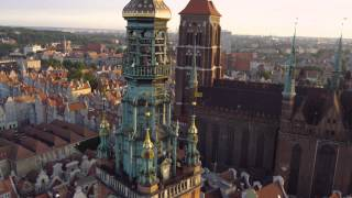 Gdansk Poland  city photos gallery : Gdańsk z lotu ptaka 4K / Gdansk from above 4K Poland