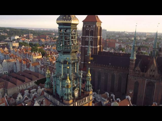 Gdansk  à vol d'oiseau