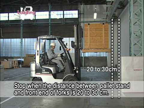 Basic Operations Of The Counterbaance Forklift