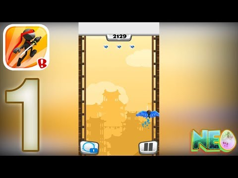 Ninjump: Gameplay Walkthrough Part 1 (iOS, Android)