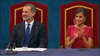 Palabras de S.A.R. la Princesa de Asturias en la Ceremonia de Entrega de los Premios 2019