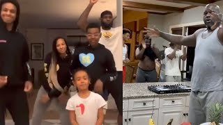 James Fam, Wade Fam & Oneal Fam Take Over Tik Tok! But Which Family Is The GOAT? by Obsev Sports