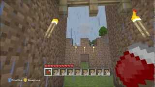 Minecraft Lets Build!: How To Build A Mud Castle (Part 2)