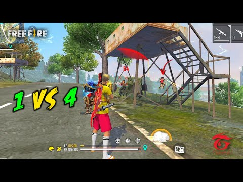 Unicorn AK47 Solo vs Squad OverPower Ajjubhai Gameplay - Garena Free Fire