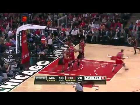 CHICAGO BULLS SNAP THE HEAT'S 27 GAME WIN STREAK [HIGHLIGHTS]