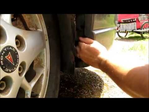 Windshield Washer Pump Replacement on a 2002 Pontiac Grand Prix