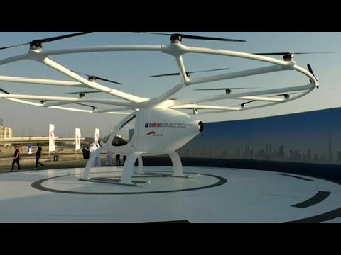 العرب اليوم - اهد: دبي تختبر أول تاكسي طائر في العالم بدون طيار