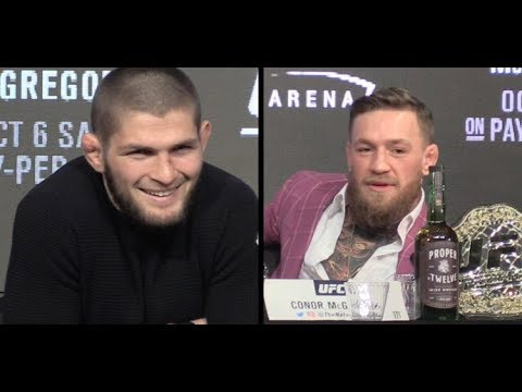 Khabib Nurmagomedov Claims to be the Mayweather of MMA, Says Whiskey Won't Save Conor McGregor (видео)