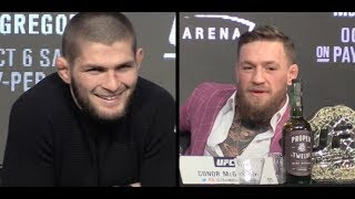 Video Khabib Nurmagomedov: 'I am the Floyd Mayweather in MMA;' Whiskey Won't Save Conor McGregor MP3, 3GP, MP4, WEBM, AVI, FLV Desember 2018
