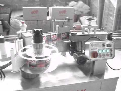 Çamaşır Suyu Kapatma Etiketleme Makinası